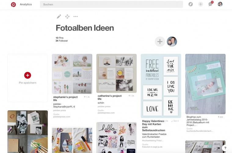 Tipps Fotos drucken Fotoalben Ideen Pinterest