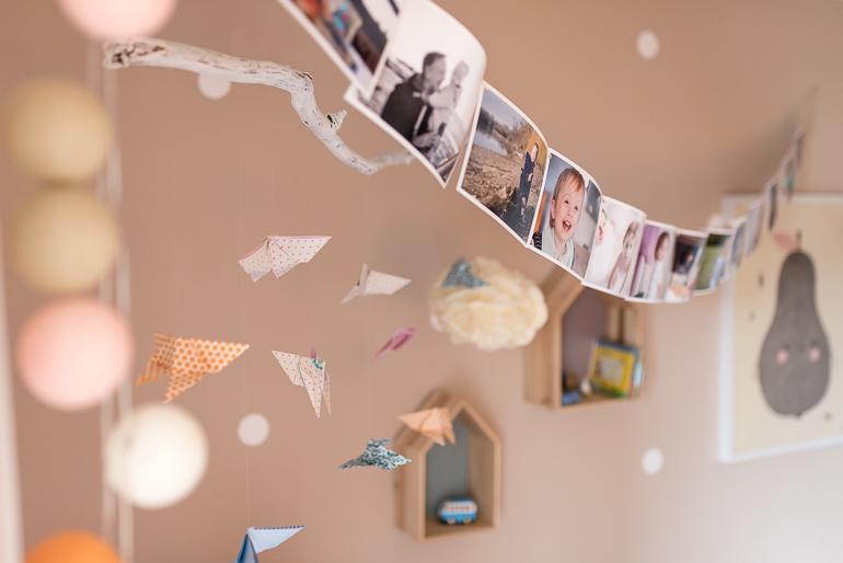 Tipps Fotos drucken DIY Fotogirlande